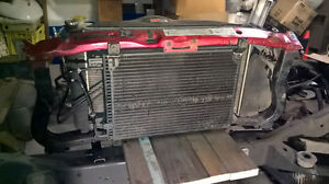 Dodge Ram Radiator/Core Support complete with Accessories