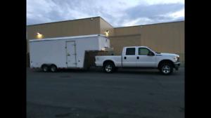 Gooseneck cargo trailer