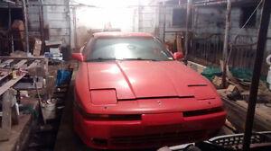 1990 Toyota Supra gris Coupé (2 portes)