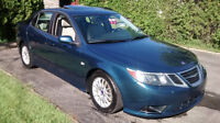 ONLY $6,695.00 - RARE BLUE - 2008 Saab 9-3 2.0T SPORT Sedan