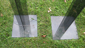 Acrylic or Plexiglass Pedestal Stand 2 feet high Base 1 sq. foot Cornwall Ontario image 5