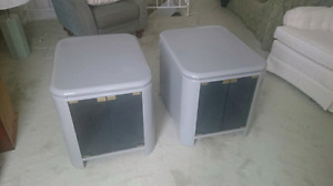 For sale two  end tables