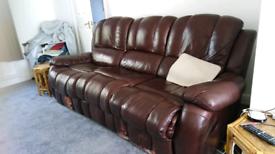 FREE sofa recliner HAXBY