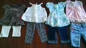 Lot de vêtements été pour fille 3 + 4 ans / Girl summer clothes