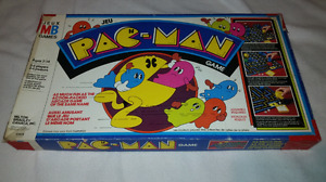 1980 Pac-Man board game,2 handheld
