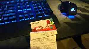 Eb games gift card.