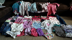 Girls Wardrobe 6-12 months, over 60 items included!3