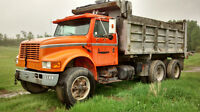 1990 international tandem dump truck