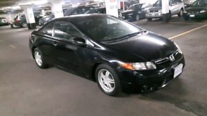 LOADED BLACK 2008 HONDA CIVIC SPORTS COUPE!! PRICED TO SELL!!!