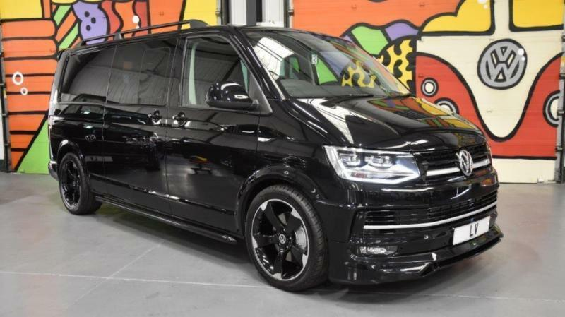 2017 17 vw t6 t32 transporter 204 dsg lwb highline kombi. Black Bedroom Furniture Sets. Home Design Ideas