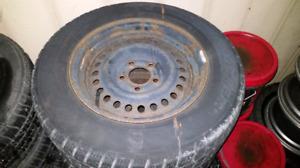 215 65 R15 snow tires 5x114.3 Toyota Nissan Honda Mazda