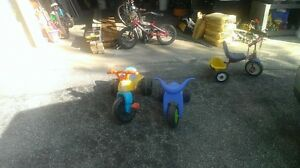 Trikes and stroller for sale