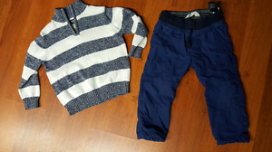 Boys 3t outfit like new h&m Oshkosh