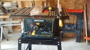 Master Craft Table saw