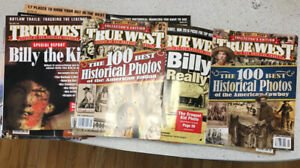 26 Back Issues of True West Magazine. Wild West History