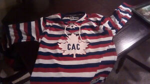 Montreal Barber pole striped winter classic Jersey