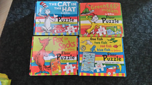 Sold pending pickup - Dr Suess Floor Puzzles