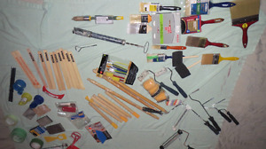 PAINTING SUPPLIES - EVERYTHING YOU NEED TO GET IT DONE!!!