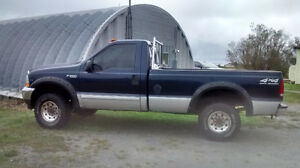 2002 Ford F-250 super duty 4x4 trade for f-150 4x4