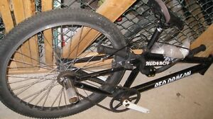 """""""Red Dragon BMX Bike,VG Cond but need fork and tire"""