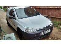 Vauxhall corsa van 1.7 dti low millage!!
