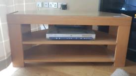 Solid Oak Marks and Spencer Corner TV unit