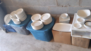 RESTAURANT*DISHES CUPS PLATES ETC*0.25