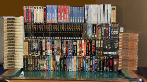 VHS player and movies