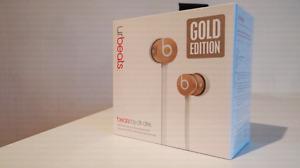 UrBEATS ear buds Gold edition LIKE NEW
