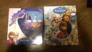 Frozen pop-up game and look & find