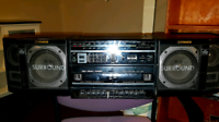Vintage '80s FISHER Ghetto Blaster