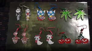 Anime - Pokemon - Nintendo earrings, keychains or necklaces London Ontario image 3