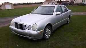 2002 Mercedes Benz E320 4matic