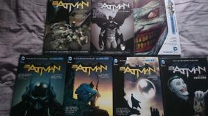 Batman New 52 Hardcovers Vol 1-7