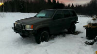 1997 Jeep Grand Cherokee Lifted 3 Inches on 31s with offset rims