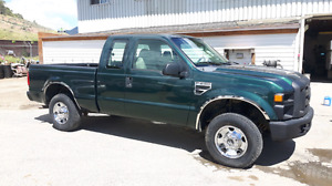 2008 ford f 250 extended short box 4x4