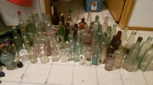 Bottles, China, old jars, antiques