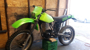 Looking for 81-84 Kawasaki Kdx250 parts
