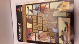 PS2 Grand Theft Auto San Andreas Special Edition