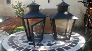 Mexican colonial lanterns - original