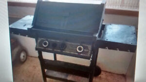 charbroil double burner barbeque with tank