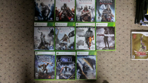 Xbox 360 games (Spring cleaning)