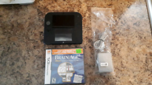 Nintendo 2DS System With Charger, Memory Card And Game!