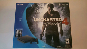 Uncharted 4 Ps4 slim 500g