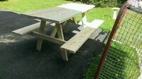 family picnic table for sale