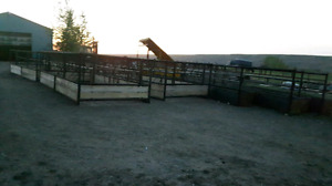 Cattle equipment and gates and caving barn panels custom welding