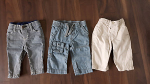 Boys 6-12 month pants