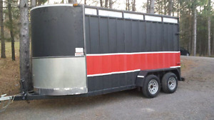 Extra tall horse trailer