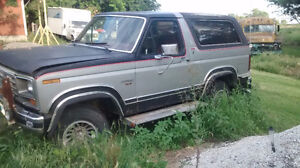 1982 Ford bronco project