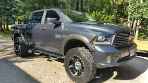 2014 Dodge Ram lifted